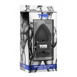 Tom of Finland Silicone Anal Plug Medium dilatatore anale