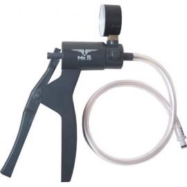 MrB Pump With Pressuremeter pompa con pressurometro per sviluppare il pene i capezzoli e i testicoli