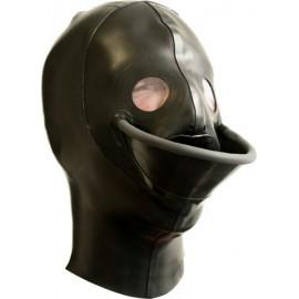Mister B Extreme Water Boarding Hood maschera orinatorio latex rubber