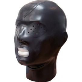 Rubber hood zip & pinhole eyes