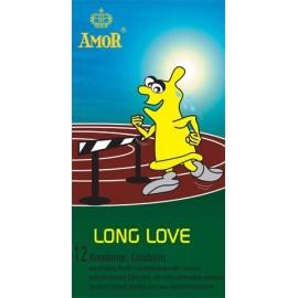 AmoR Long Love Condoms ritardante 12 pz. profilattici