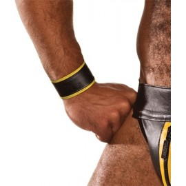 COLT Wristband Black / Yellow bracciale polso regolabile