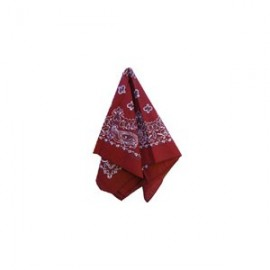 Hanky Dark Red