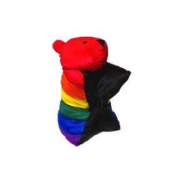 Rainbow Bear Pillow