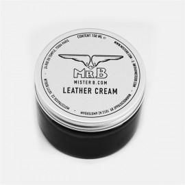 Mister B leather cream crema per cura leather pelle
