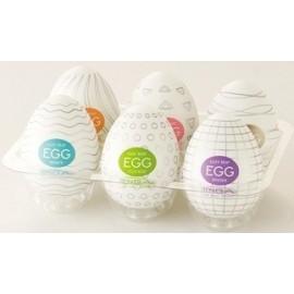 Tenga Set Of 6 Different EGGs confezione di 6 uova masturbatoti differenti