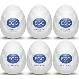 Tenga EGG Misty confezione di 6 uova masturbatori