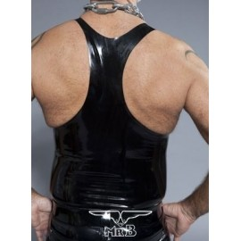 Muscle Shirt Rubber canotta gomma