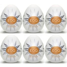 Tenga EGG Shiny confezione di 6 uova masturbatori