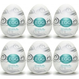 Tenga EGG Surfer confezione di 6 uova masturbatori
