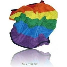 Gay Pride Rainbow Towel 50 x 100 asciugamano arcobaleno