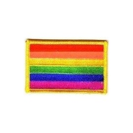 Rainbow Patch Gay Pride Arcobaleno stemma toppa