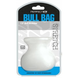 Perfect Fit Bull Bag Clear contenitore per testicoli in silicone