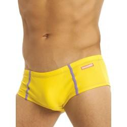 GBGB Cancun Swimwear Trunks Yellow mini boxer costume da bagno