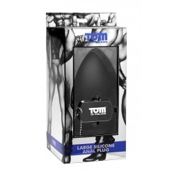 Tom of Finland Silicone Anal Plug Large dilatatore anale