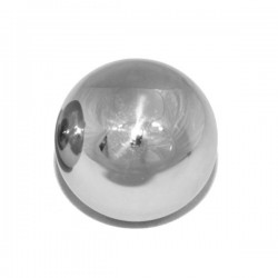 Black Label Screw On Off Ball 60 mm. For Shafter Ring sfera anal toy in acciaio inox 60 mm. da abbinare a (132868-DU)
