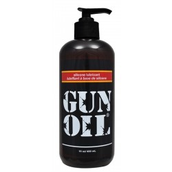 Gun Oil 480 ml. lubrificante intimo base silicone 16 oz