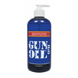 Gun Oil H2O Water Based 480 ml. lubrificante intimo base acquosa 16 oz