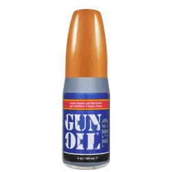 Gun Oil GEL Water Based 120 ml. lubrificante gel intimo base acquosa 4 oz