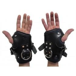 Mister B Premium Wrist Suspension Restraints restrizioni per polsi per sospensione leather in pelle