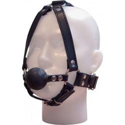 Mister B Mister B Ballgag Face Harness maschera palla bavaglio cinghie pelle leather latex