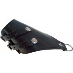 Mister B Parachute With 2 Buckles And D-Ring ball stretcher leather in pelle