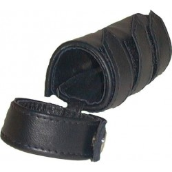 Mister B Cockstrap with sheath plain cockring guaina leather pelle