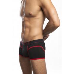 Jack Adams Hawthorne Boxer Brief Underwear Black Red boxer shorts intimo uomo