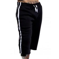 Jack Adams Raw Edge 3.0 Fleece Pant Black calzoncini lunghi in tessuto felpato