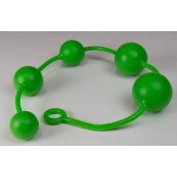 Sport Fucker Slam Jam Balls Green silicone dilatatore anale