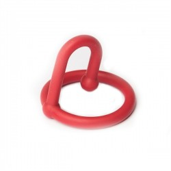 Sport Fucker Silicone Cum Stopper Red cockring anello glande ferma sperma