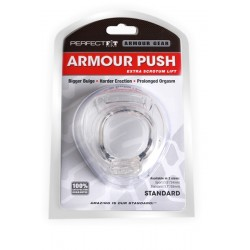 Perfect Fit Armour Push Standard Size 38 mm. Clear cockring estensibile trasparente