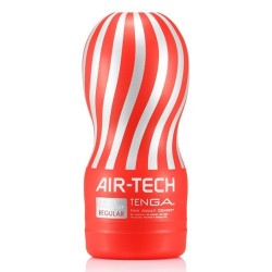 Tenga Reusable Air Tech Vacuum Cup Regular Red masturbatore
