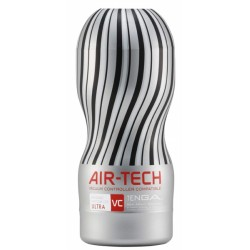 Tenga Reusable Air Tech Vacuum Cup VC Ultra Silver masturbatore