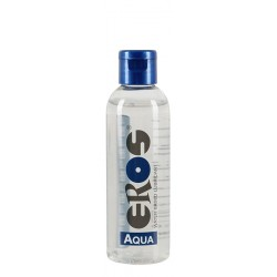 Eros Aqua Lube 3 flaconcini tascabili da 50 ml. di lubrificante intimo a base acquosa