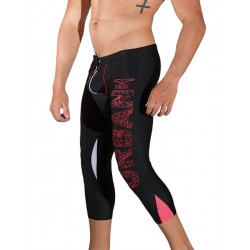 Mister B URBAN WeHo Tights Black Leggings pantaloni sportivi nero
