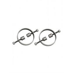 Mister B Nipple Compressors tit toys coppia di tortura capezzoli regolabili in metallo