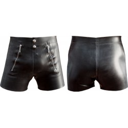 Mister B Rubber Front Flap Shorts calzoncino rubber gomma