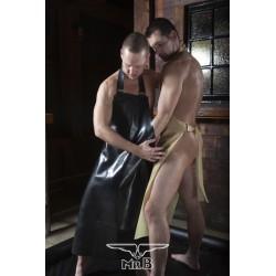 Mister B Rubber Butchers Apron grembiuli in rubber gomma