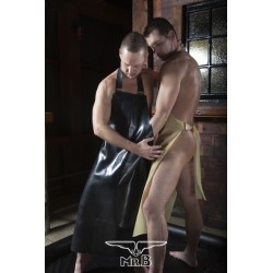 Mister B Rubber Butchers Apron grembiuli in rubber gomma