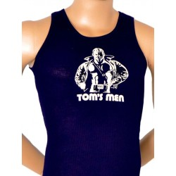 Tom of Finland Kake Tank Top (Euro Size) Black canotta