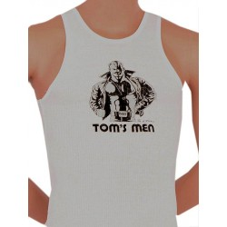 Tom of Finland Kake Tank Top (Euro Size) White canotta