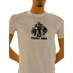 Tom of Finland Kake T-Shirt (Euro Size) White maglietta