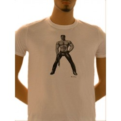 Tom of Finland Master T-Shirt (Euro Size) White maglietta