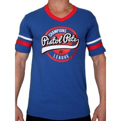 Pistol Pete Champions Short Sleeve Tee T Shirt Royal Blue maglietta