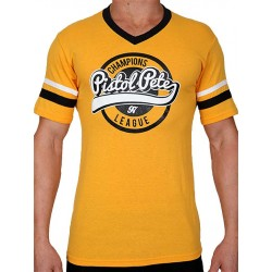 Pistol Pete Champions Short Sleeve Tee T Shirt Yellow maglietta