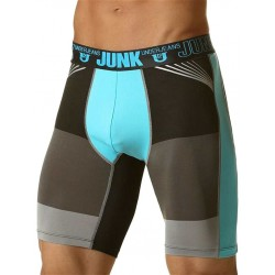 Junk Flash Bike Brief Underwear Aqua Blue calzoncini sportivi