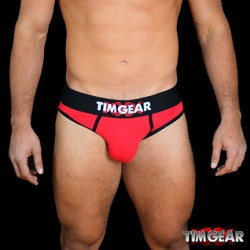TIM Gear Brief Underwear Red slip intimo uomo