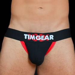 TIM Gear Jockstrap Underwear Black jockstrap sospensorio intimo uomo