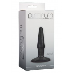Platinum The Li'l End Charcoal plug dilatatore anale in silicone